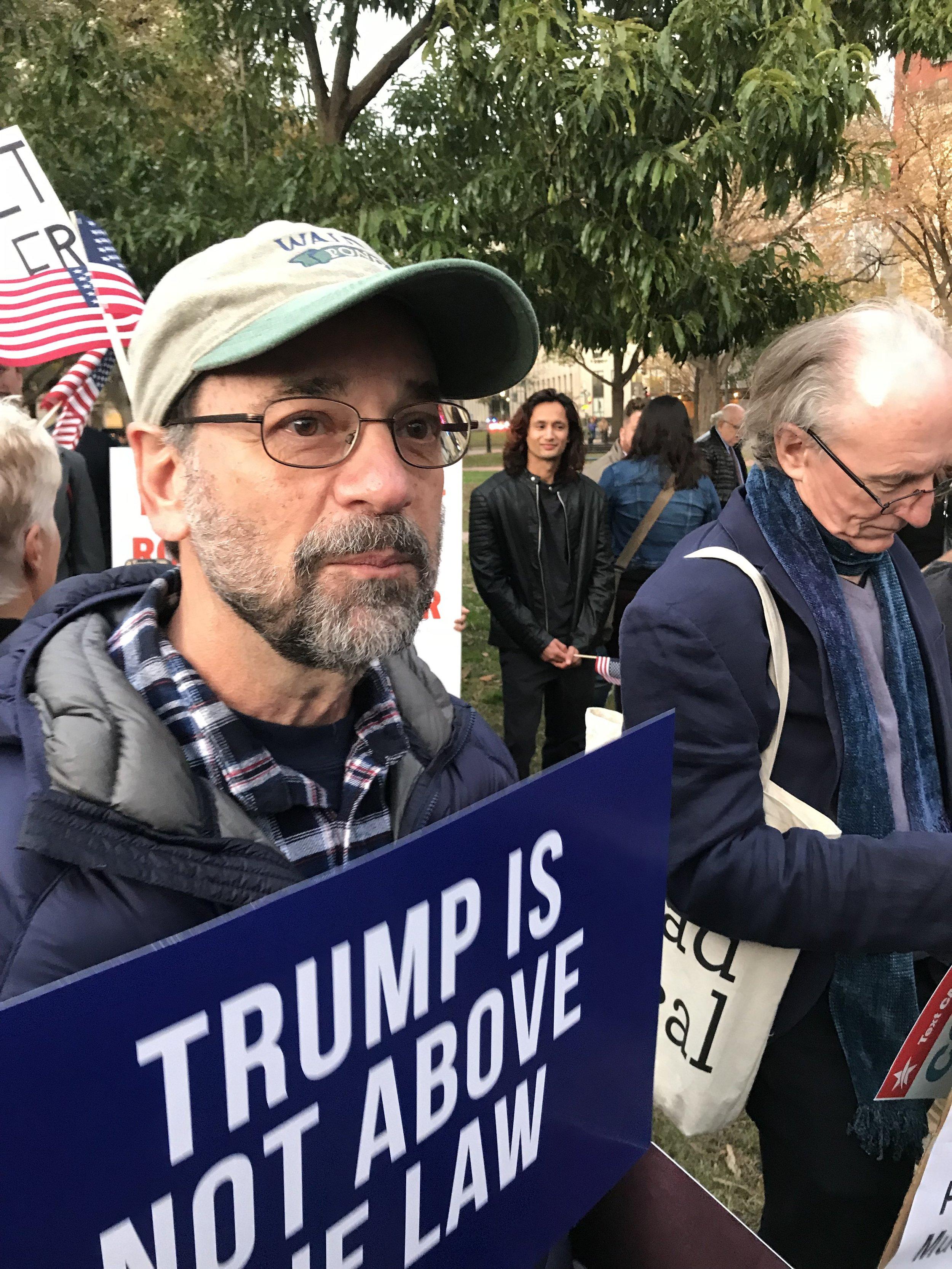 Rallying for the Mueller Report (November 2018)