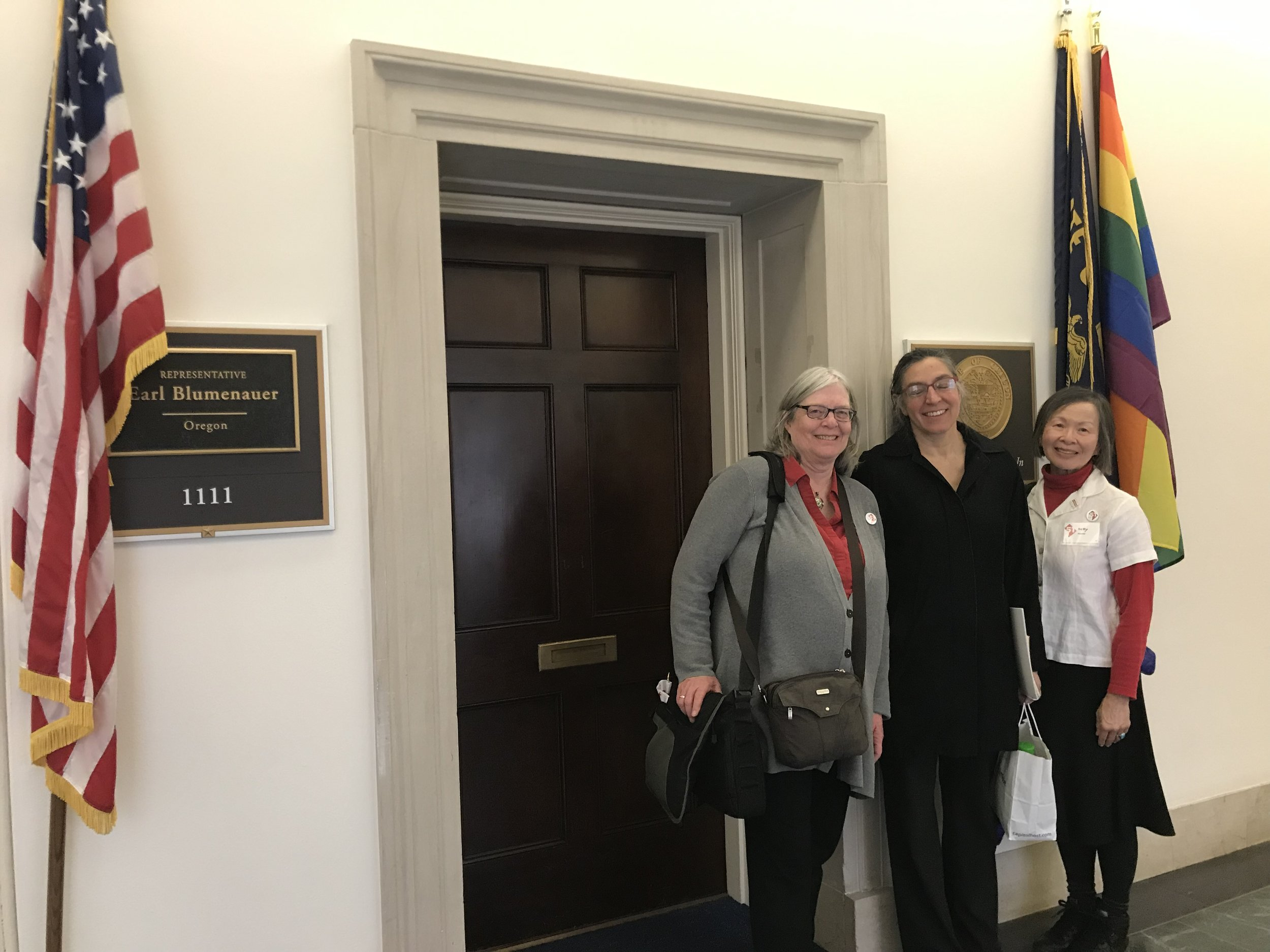 Lobbying for DC Statehood and H.R. 51. (February 2019)