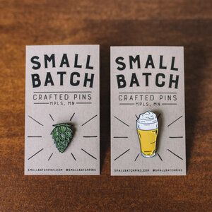 Small Batch Pins, Hops and Pils