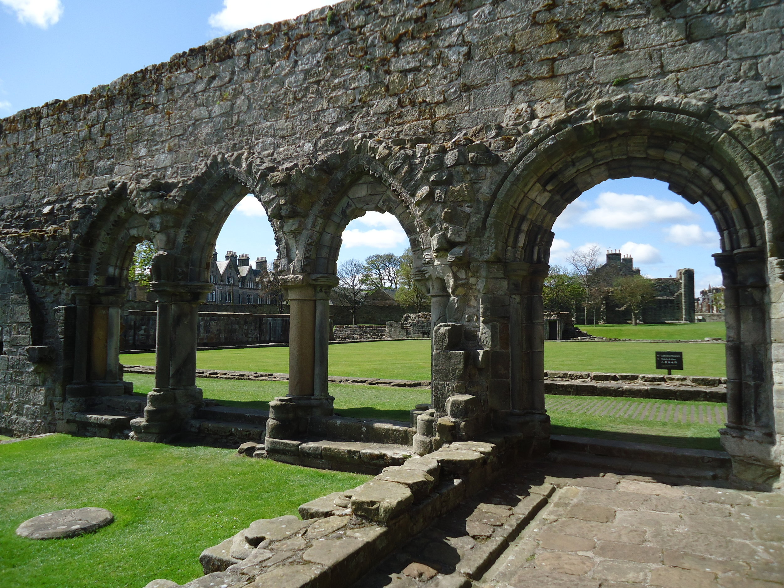 Historical studies… a good excuse to travel. St. Andrews, Scotland