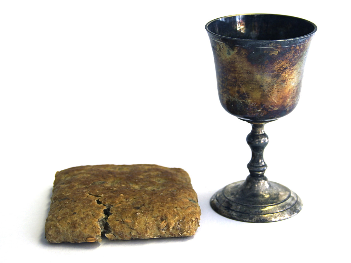 "The actual ""Holy Grail"" (credits: www.history.com)"