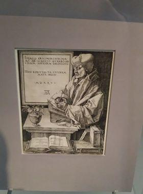 Dürer's Portrait of Erasmus