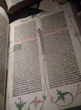 The Beinecke's Gutenberg Bible