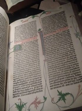 The Beinecke's Gutenberg Bible