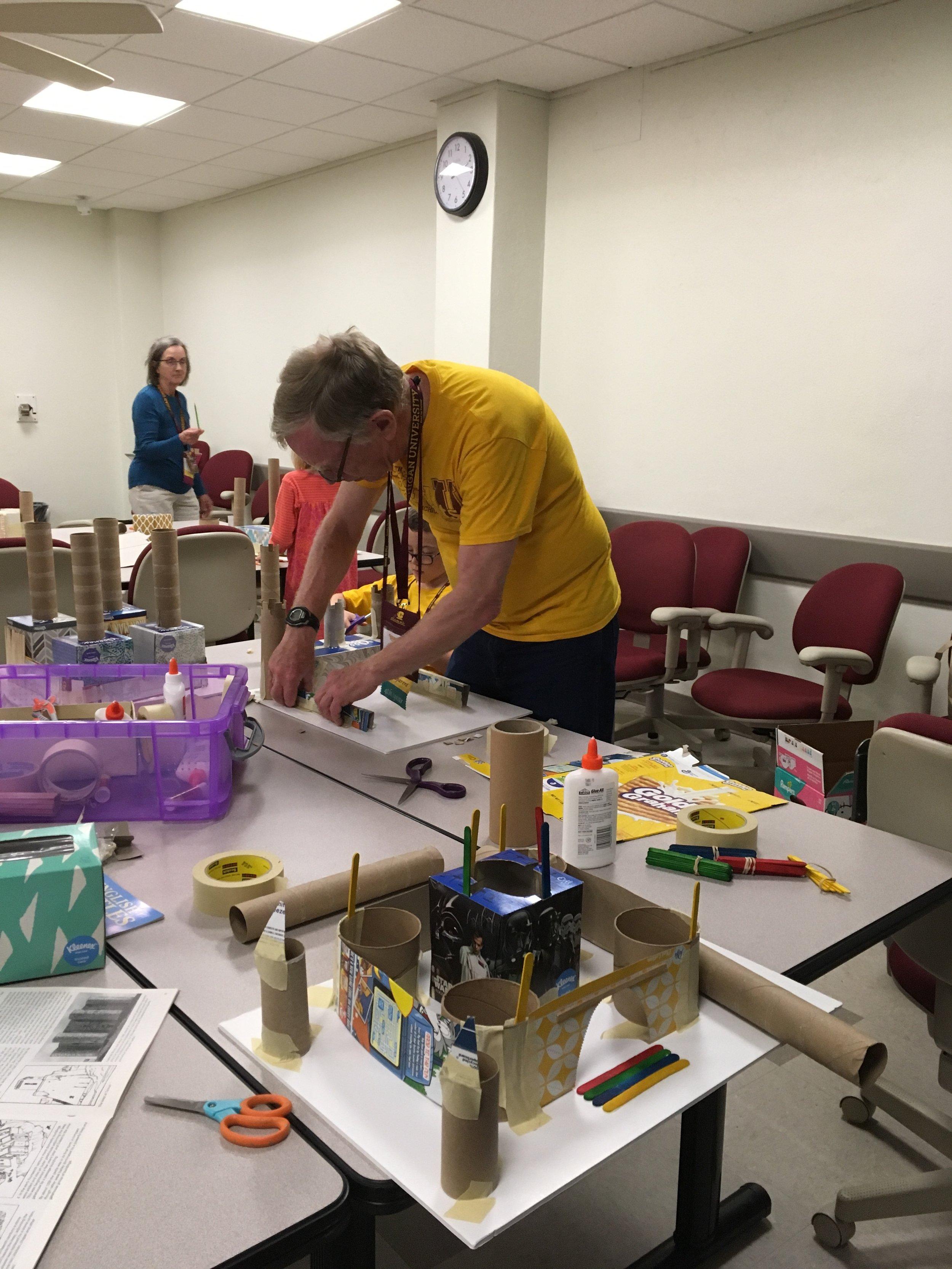 Building Cardboard Castles