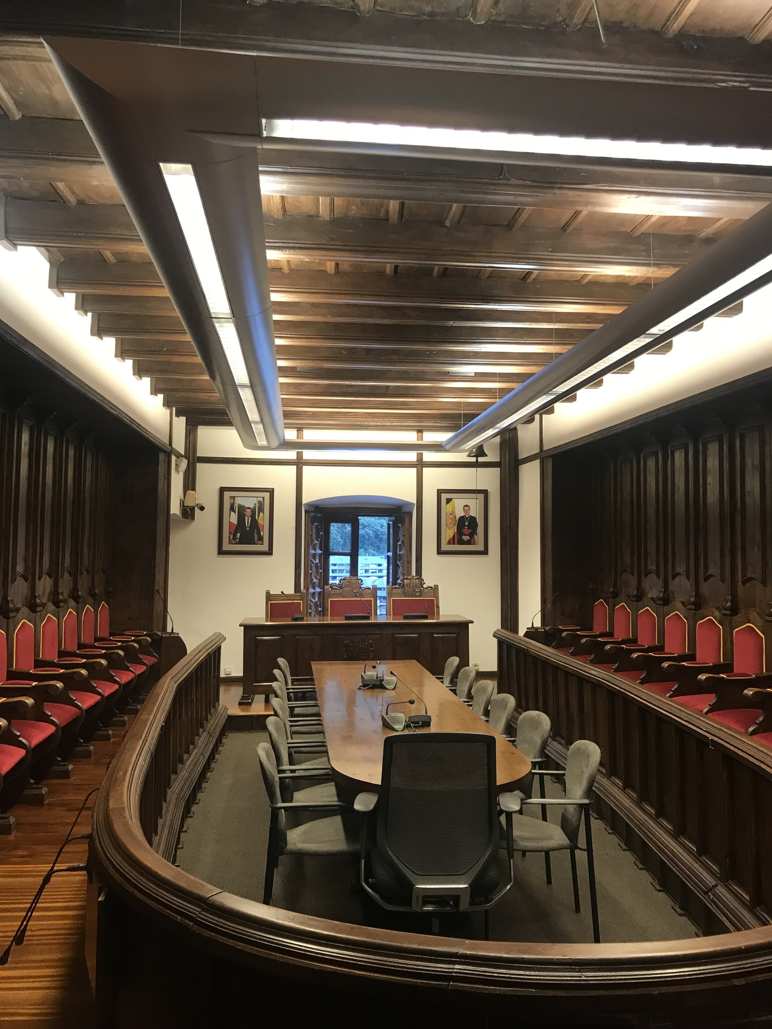 The Old Andorran Parliament