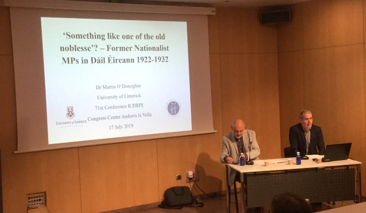 The Author's Presentation at the ICHRPI