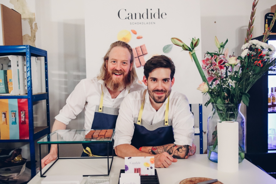 Daniel Budde and chef Christopher O'Connor, Candide. Photo: iHeartBerlin