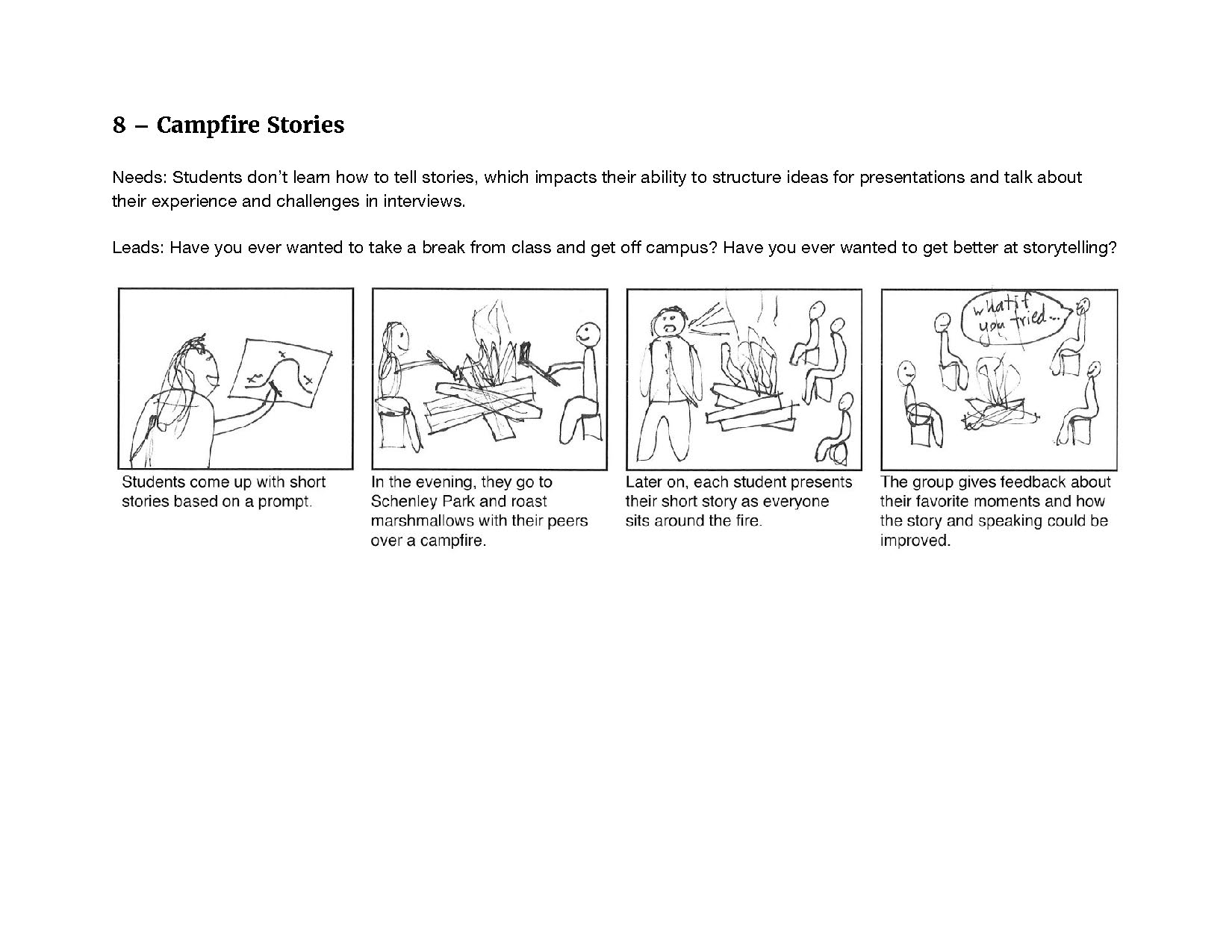 This is a storyboard I worked on.