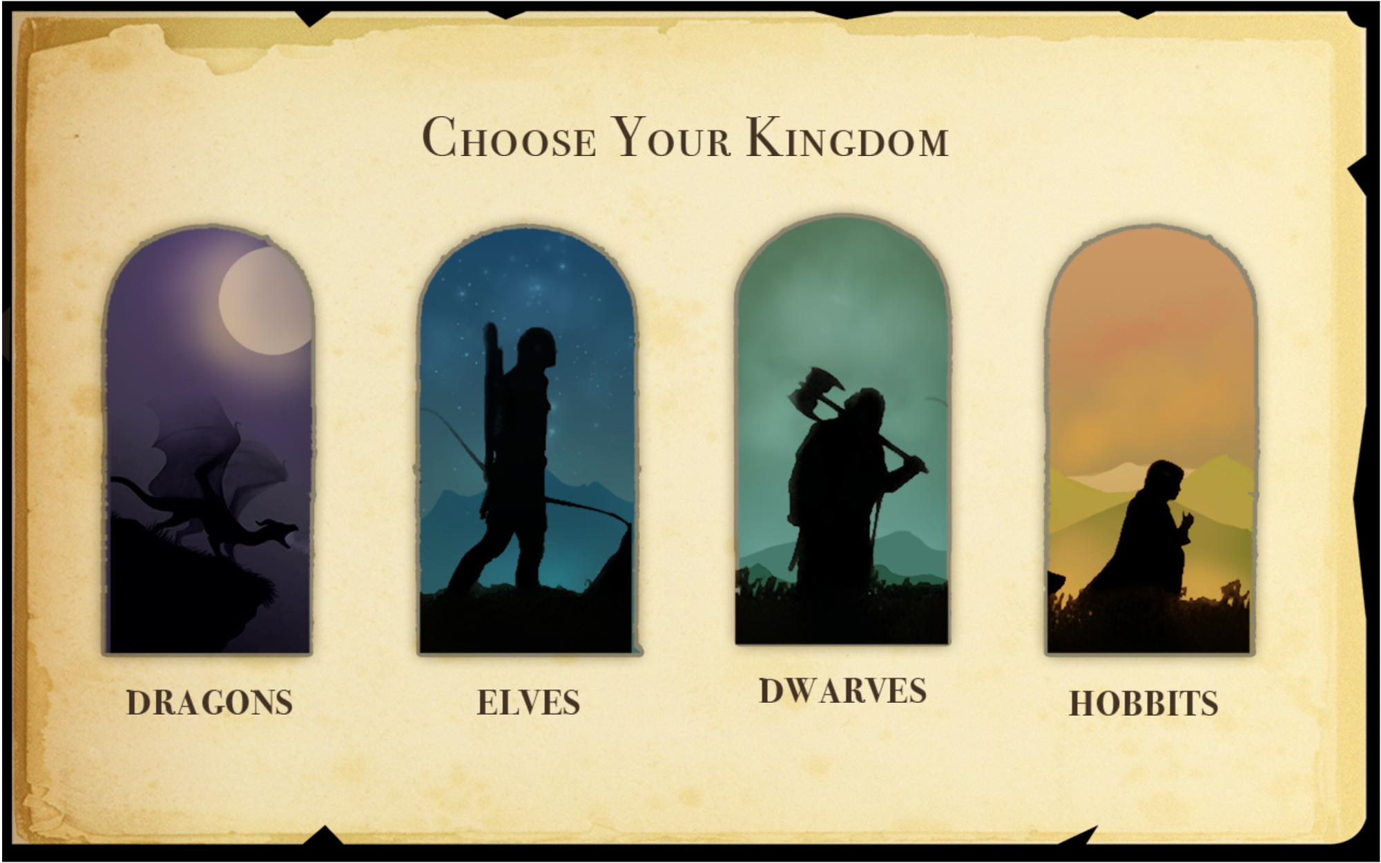 2. Choose Your Kingdom
