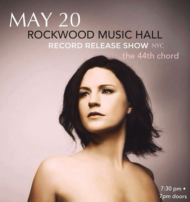 Tomorrow night, Monday 5.20 is my East Coast record release show @rockwoodmusichall 💫 can't wait to celebrate with you.  7:30pm || doors at 7pm See you soon, New York ✨ . . . Tickets at carriemanolakos.com/upcomingshows  #carriemanolakos #nyc #the44thchord