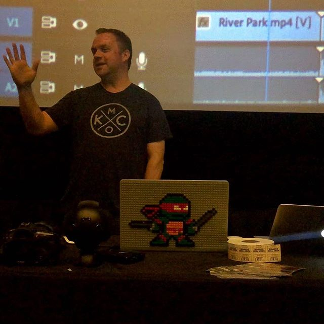 Thanks to KC VideoCore for letting me talk on 360 filmmaking and VR type stuff!  Next time, I'll bring a new project with about 50 headsets or so. 🎬📽🔥 . . . . . . . . . #vrfilmmaking #vr360 #360film #insta360 #filmmaking #onset #filmproduction #makingmovies #indiefilm #vr #virtualreality #360video #alchemy360 #inthestory #transformingbrands #iamcreative #creativepassion #handcrafted #visualartist #creativeentrepreneur #visualstoryteller #filmmaker #videoproduction #videomaker #360film #alamodrafthouse #adobepremiere #insta360pro