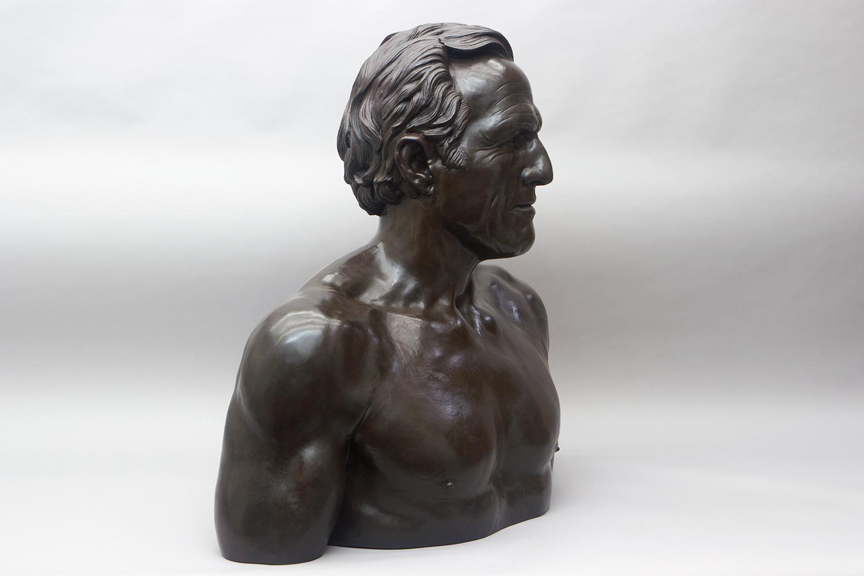 Greg Norman bust