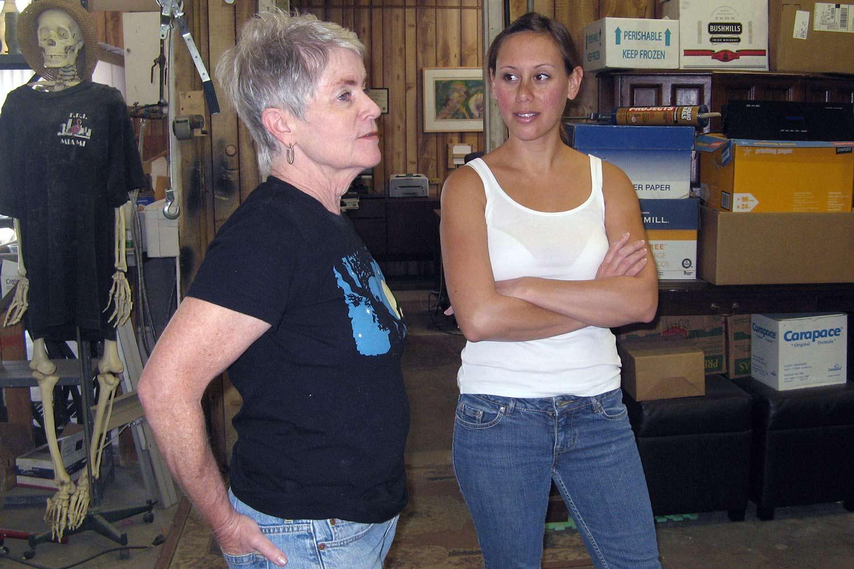 Sue Sullivan & Bri Toledo