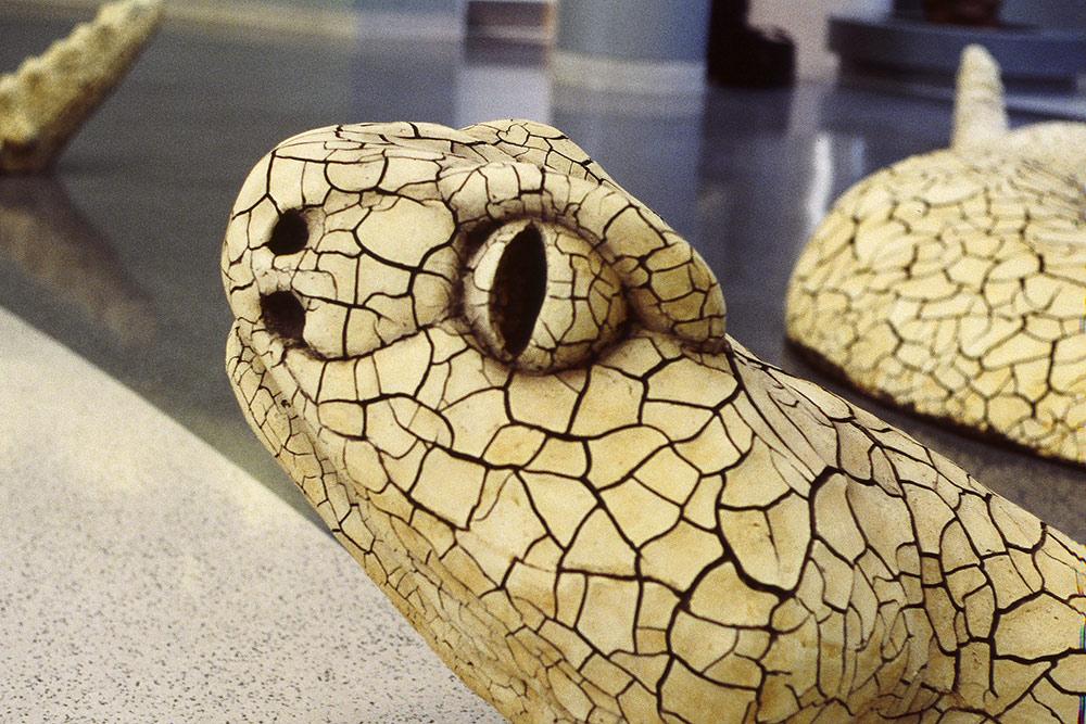 Mojave Rattlesnake (detail)