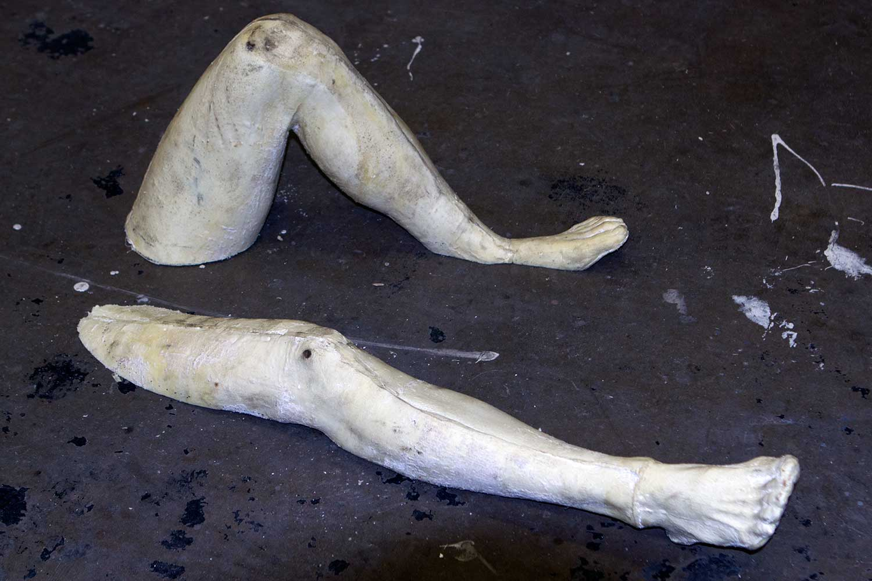 Legs trimmed