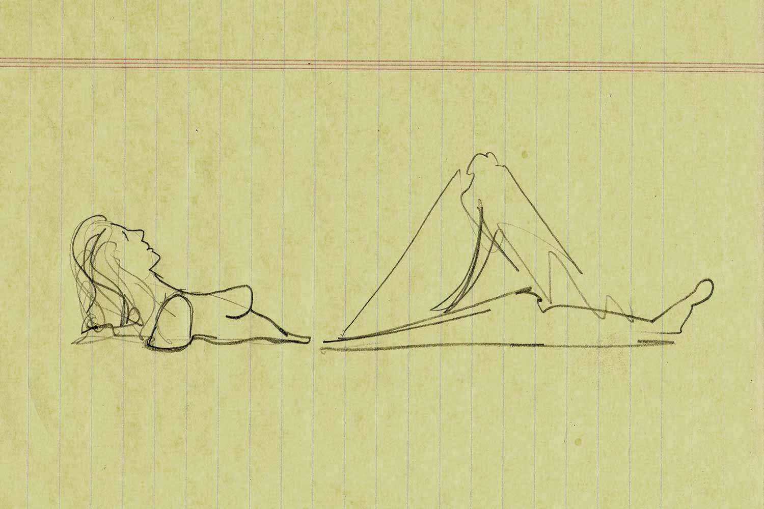First Sketches of American Beauty