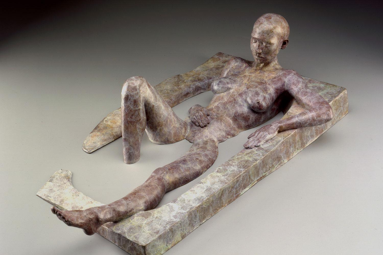 Bather (bronze)