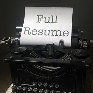 Full Resume
