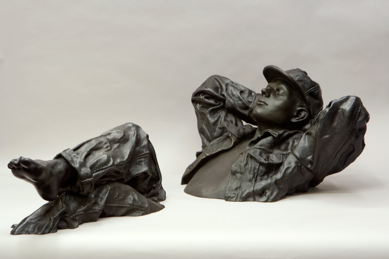 "2006 13"" x 43 x 24 bronze edition of 35"