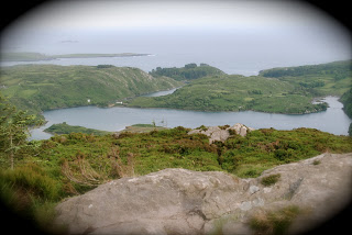 Soldiers Look Out Lough Hyne