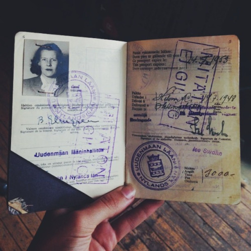 Elin Brita Elmgrem from Finland dated 1953