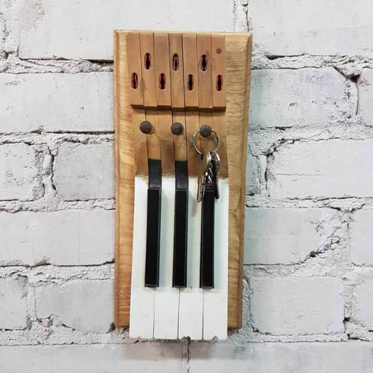 $ 65   Piano key rack. Lots to choose from.