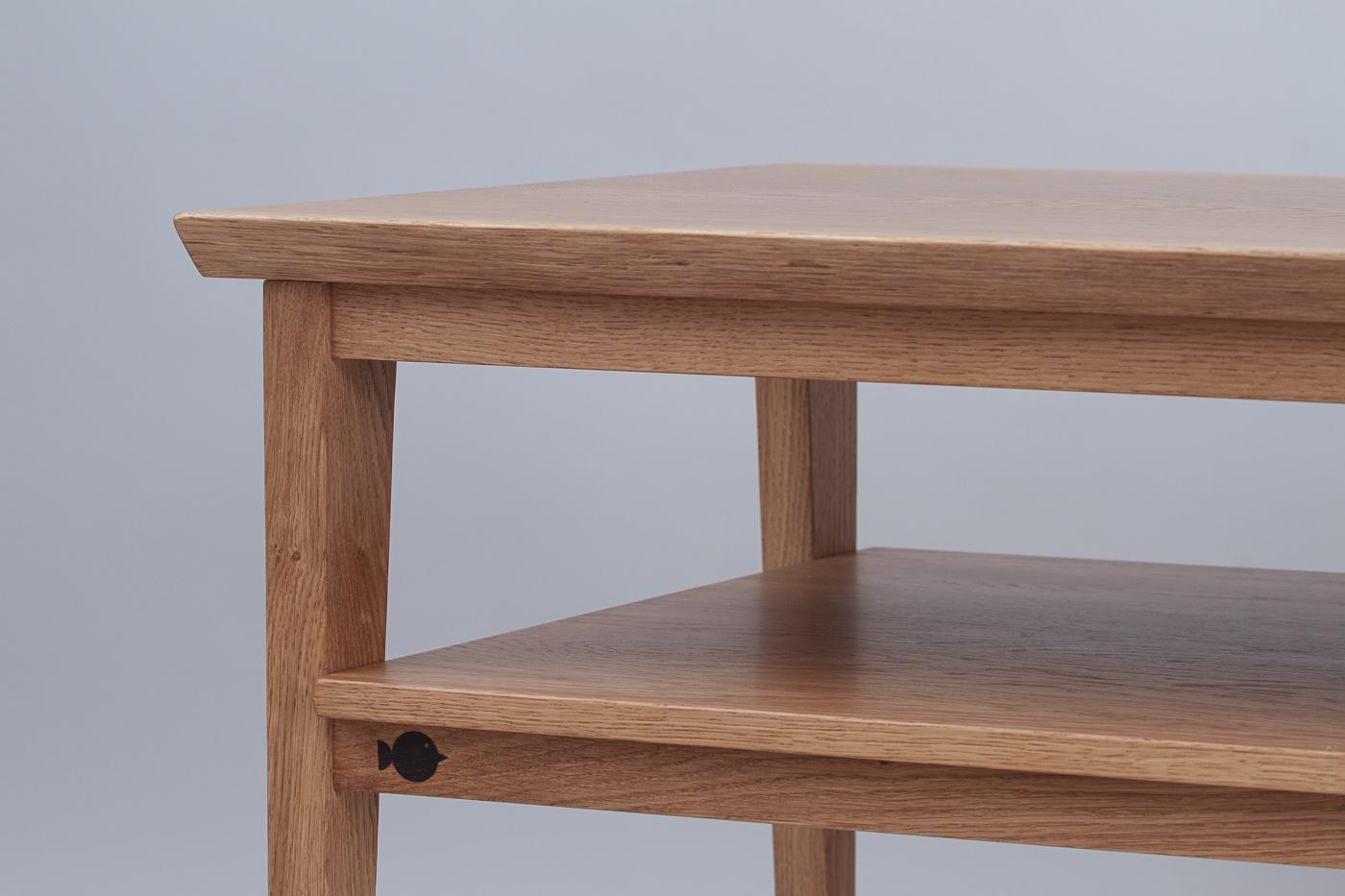 Журнальный стол с полкой Double Deck