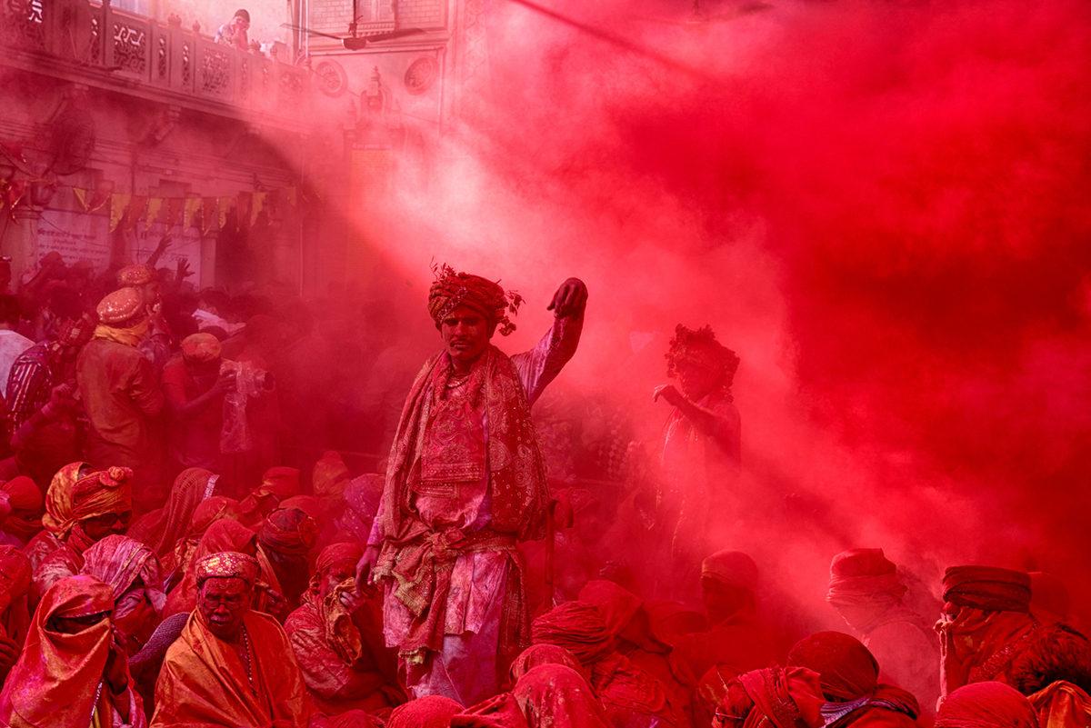 Photographer:  Debdatta Chakraborty   Country:  India  Title:  Vermillion Storm