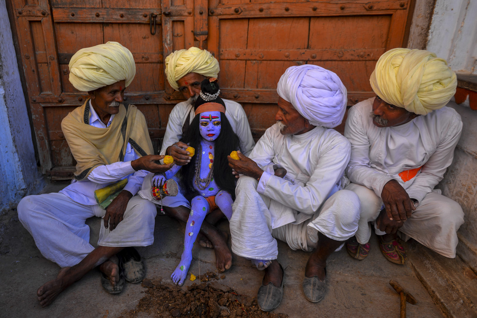 Photographer:  Sanghamitra Sarkar   Country:  India  Title:    Little God