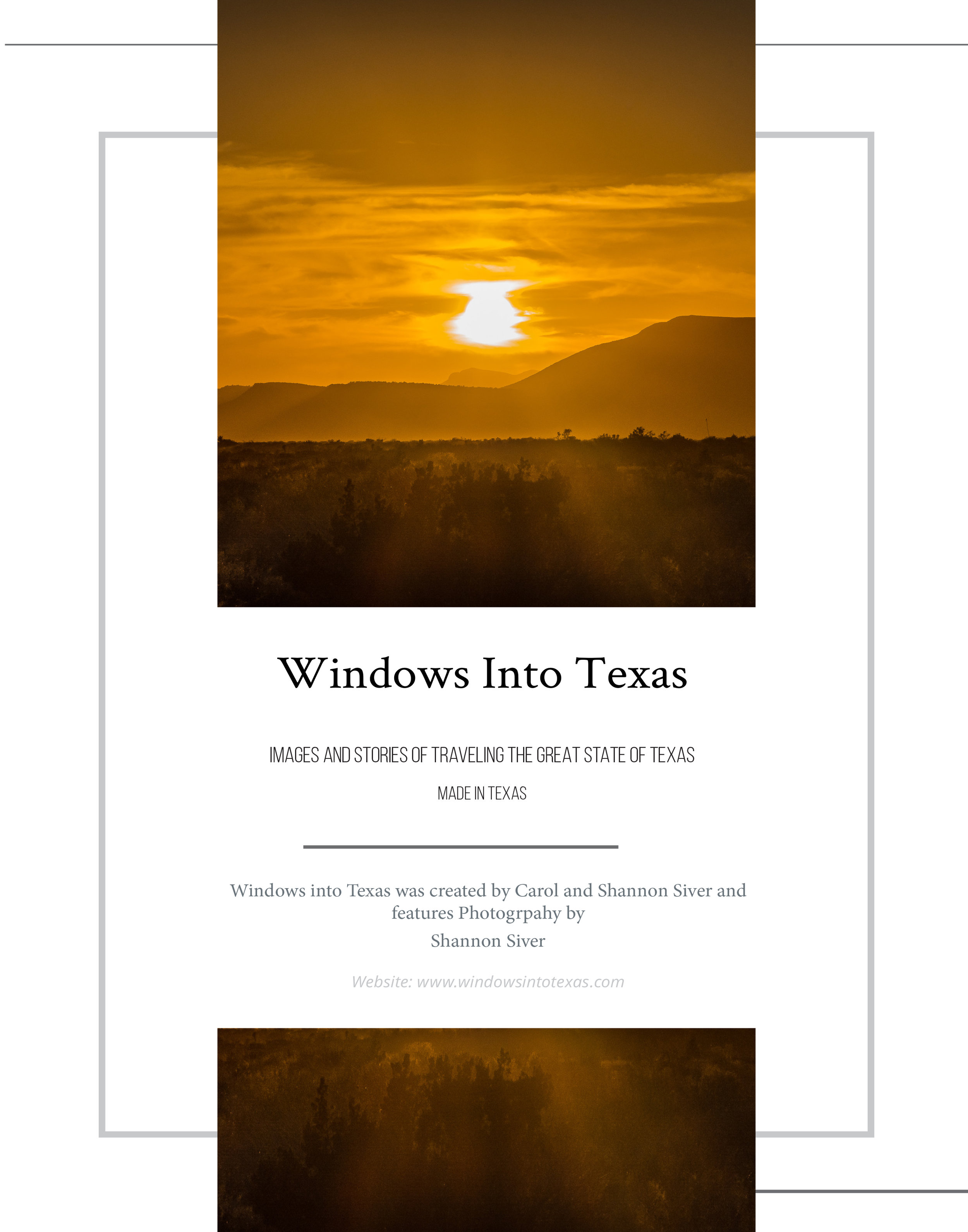 Windows into Texas