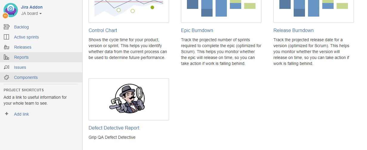 Defect Detective Jira Location