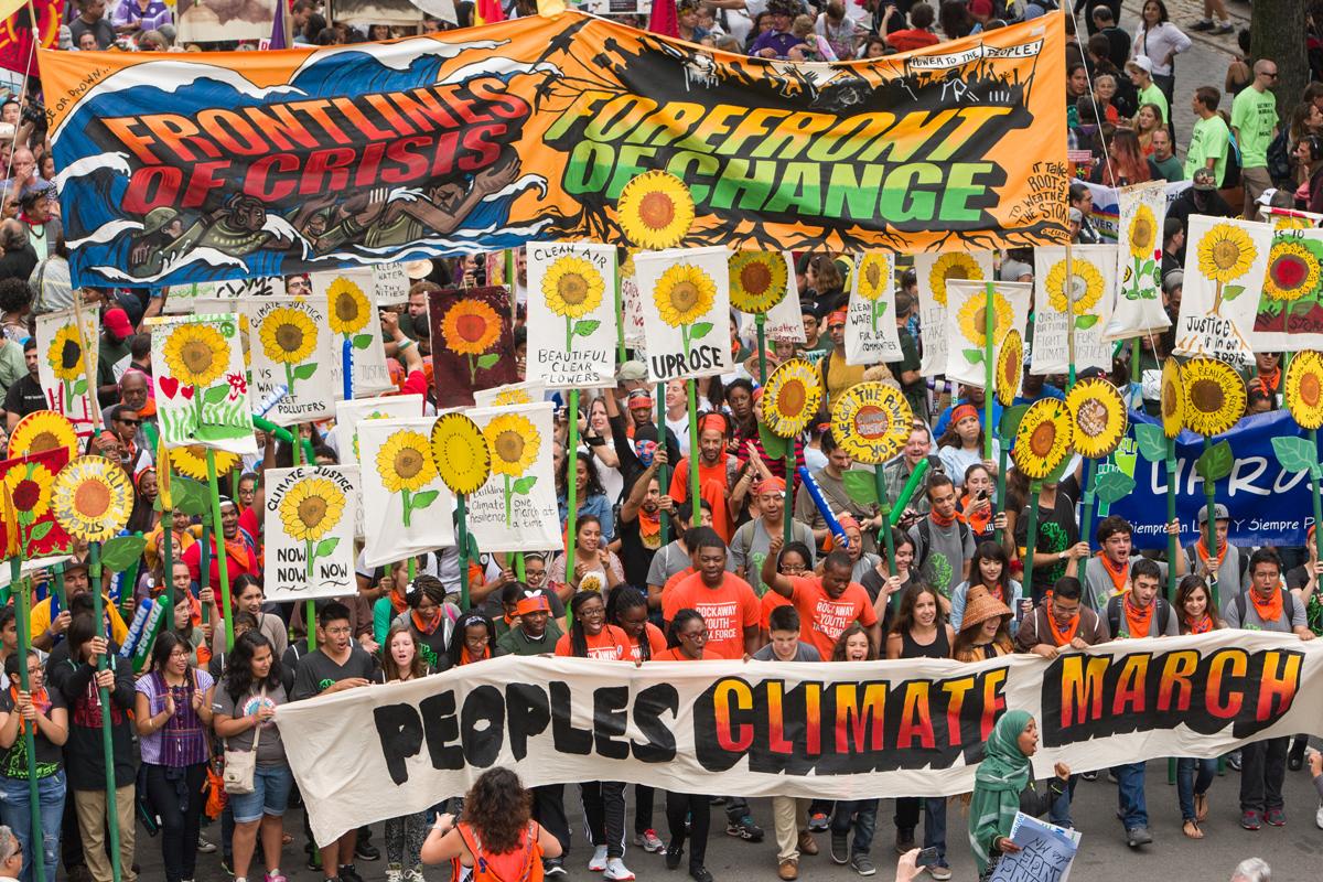 Photo courtesy of  350.org .