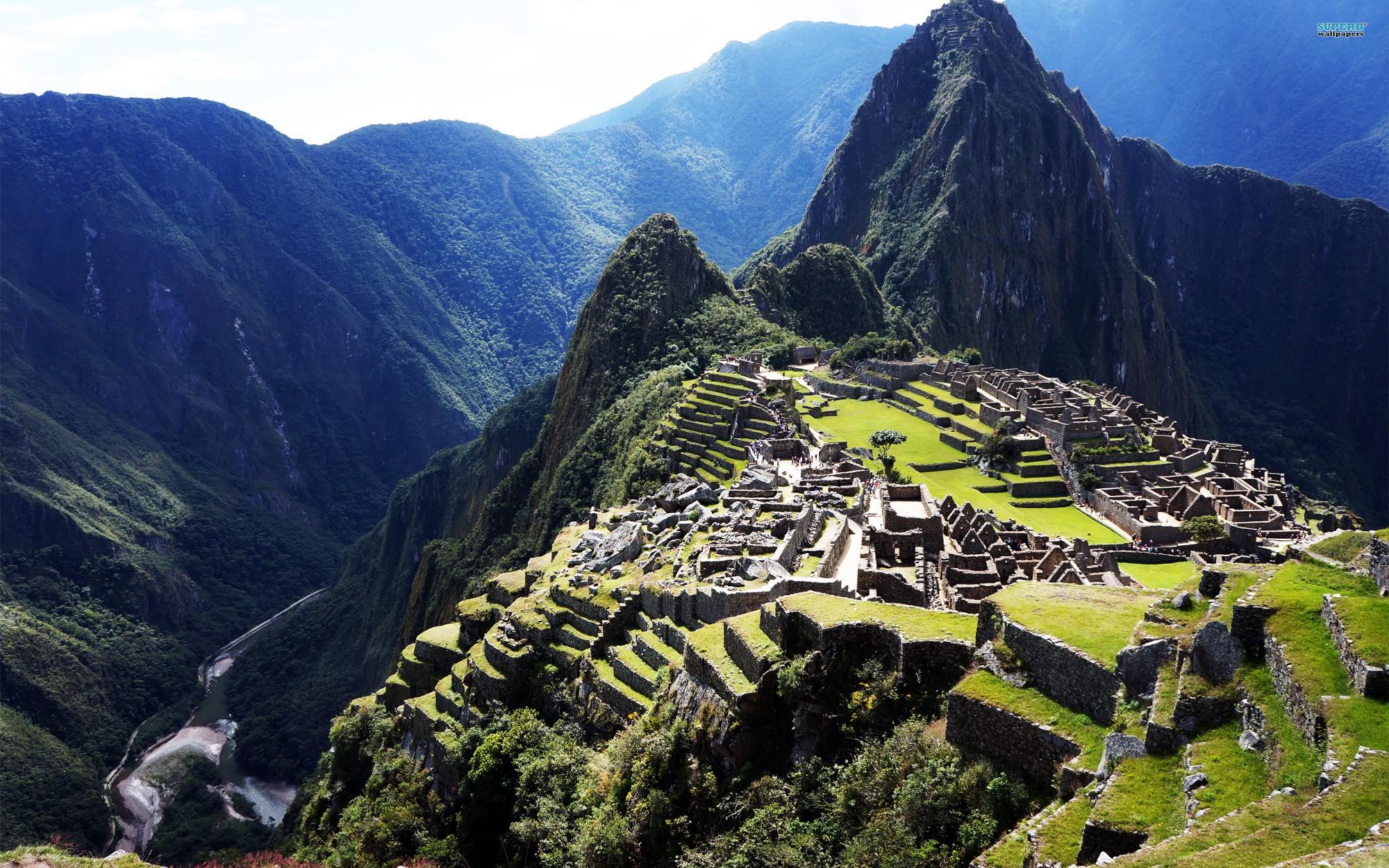 Machu Picchu, Peru—a beautiful example of intentional design in nature.