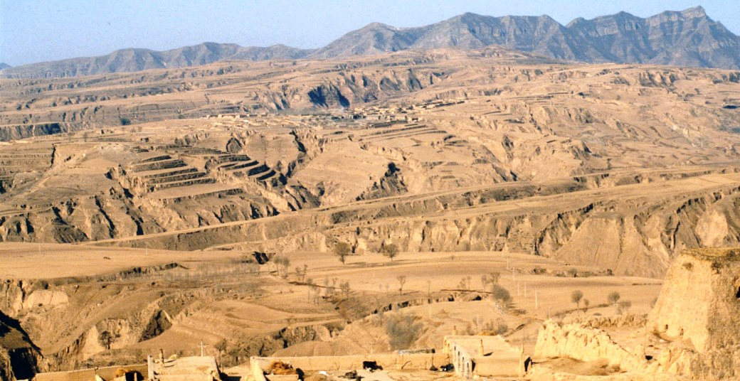 Featured photo of the Loess Plateau by Till Niermann via Wikipedia.