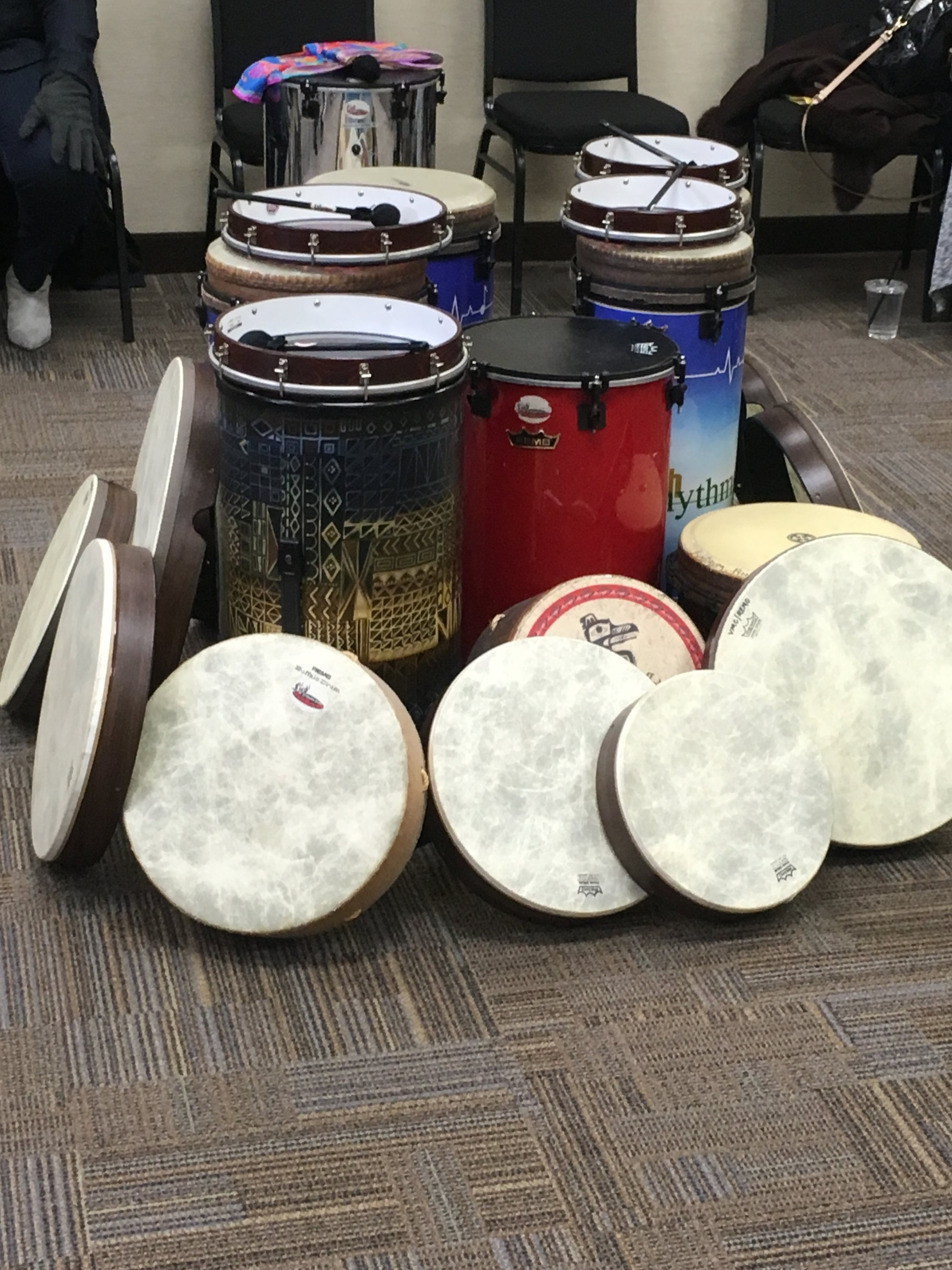 Quality REMO percussion for your drumming pleasure!