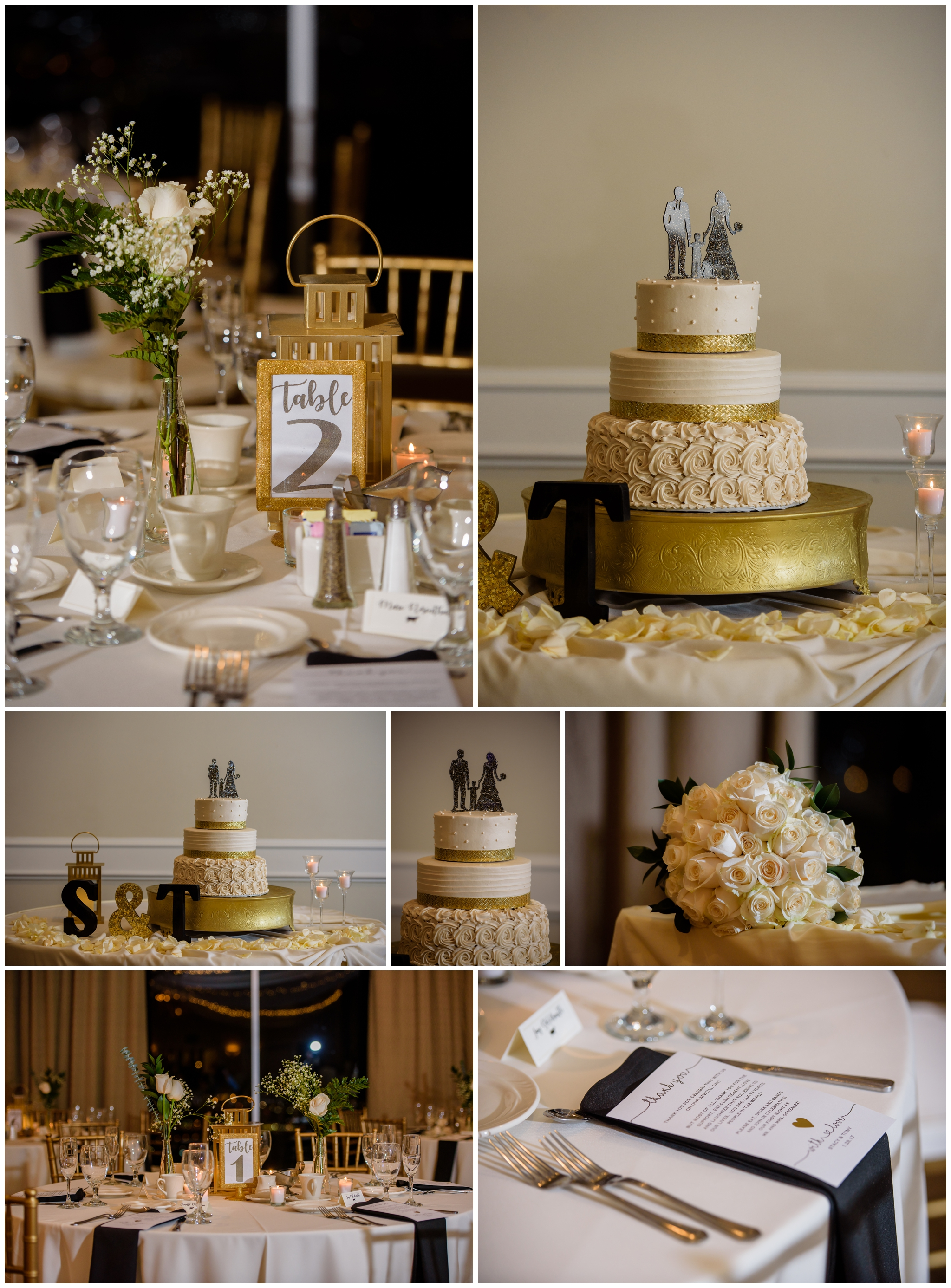 The very first thing I do is get into the reception area, set up my lights and take the detail shots. Even if people are already sitting down there has to be a table or two that are free. Oh and doesn't that cake look amazing!