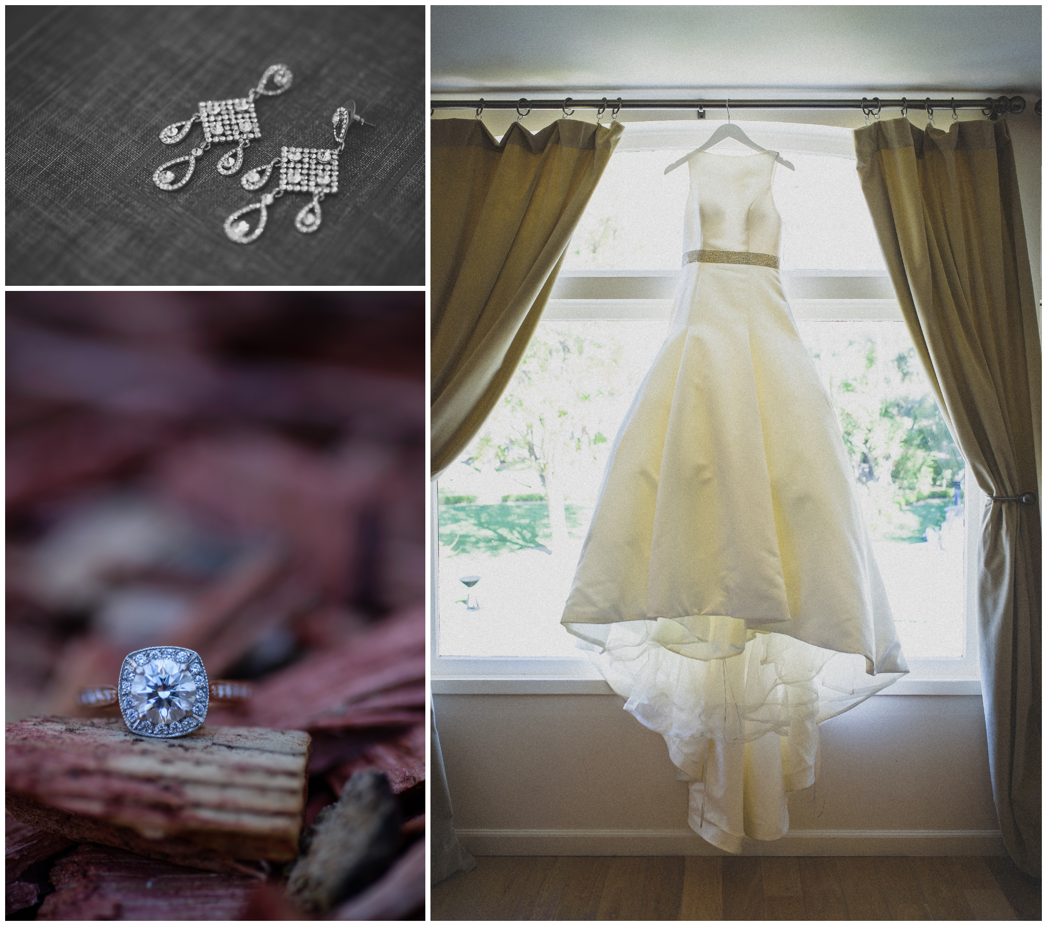 The beautiful dress looks great here at New Hall Mansion. The big windows let in so much natural light here that it almost makes it too easy to take amazing wedding photographs.