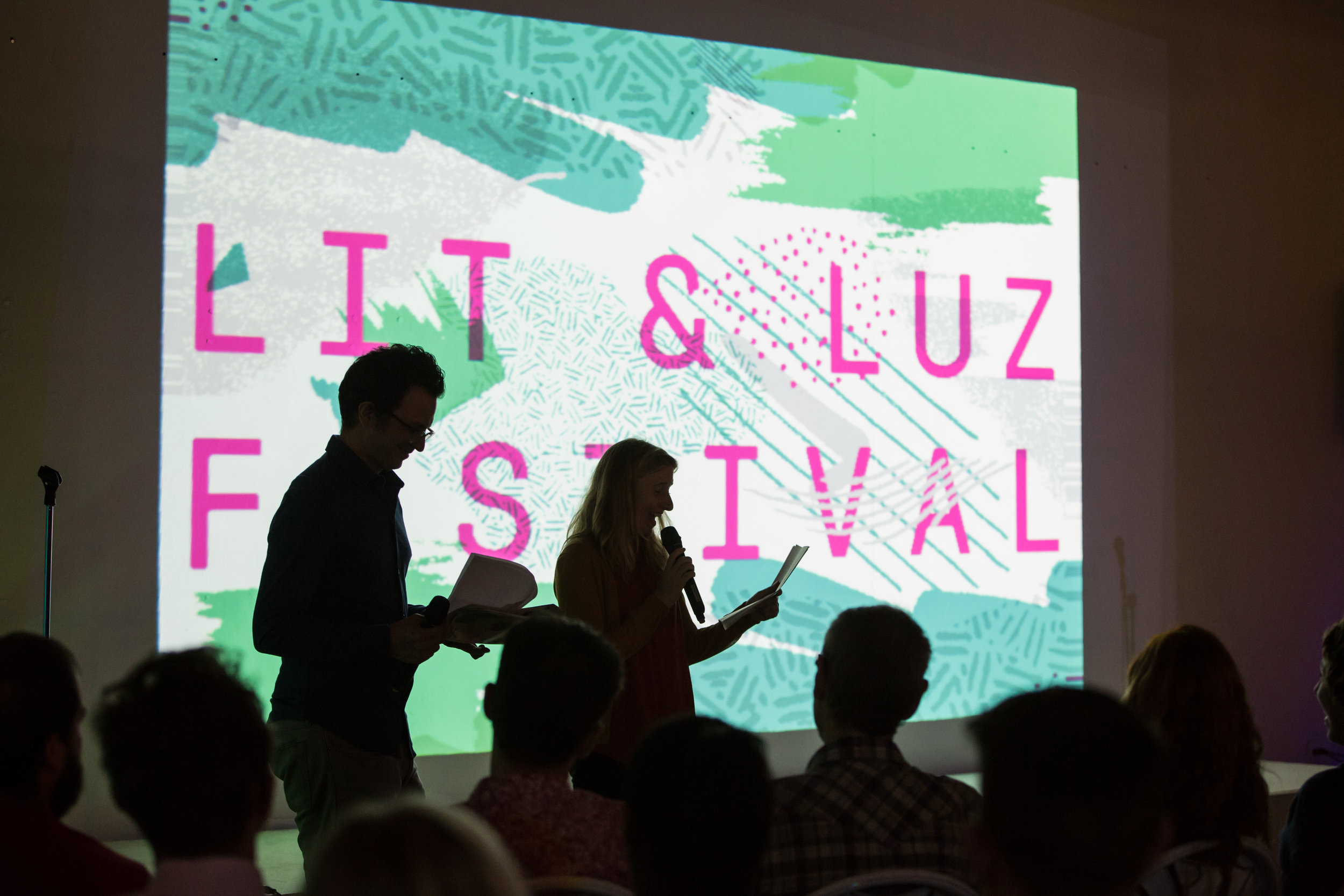 A $3000 or more donation  - You or a business of your choice named as a presenting sponsor at Lit & Luz 2018. Be our guest in Mexico City in 2018 or 2019 and Chicago and participate in behind-the-scenes activities!