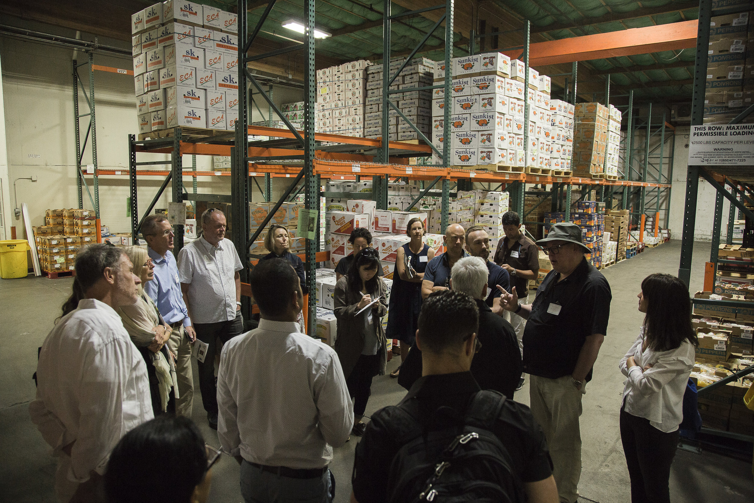 In July 2018 we visited General Produce Distribution Company in Sacramento, California. Photo by Steven Baumgartner.