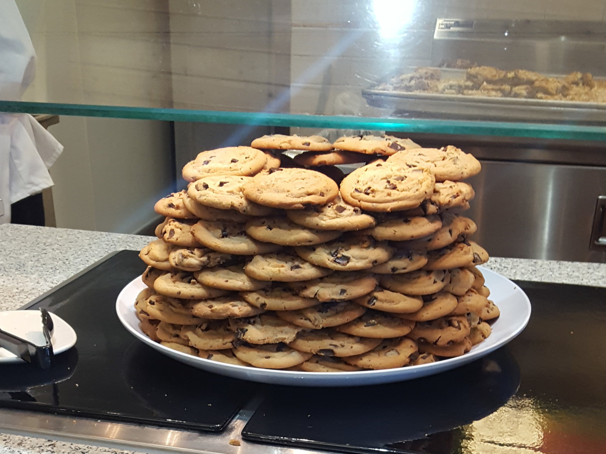 Heaps of cookies and other foods that are easily accessible create a culture of abundance.