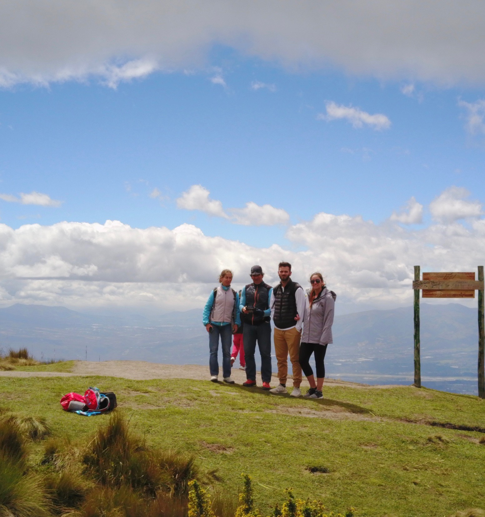 800 Meters above Quito
