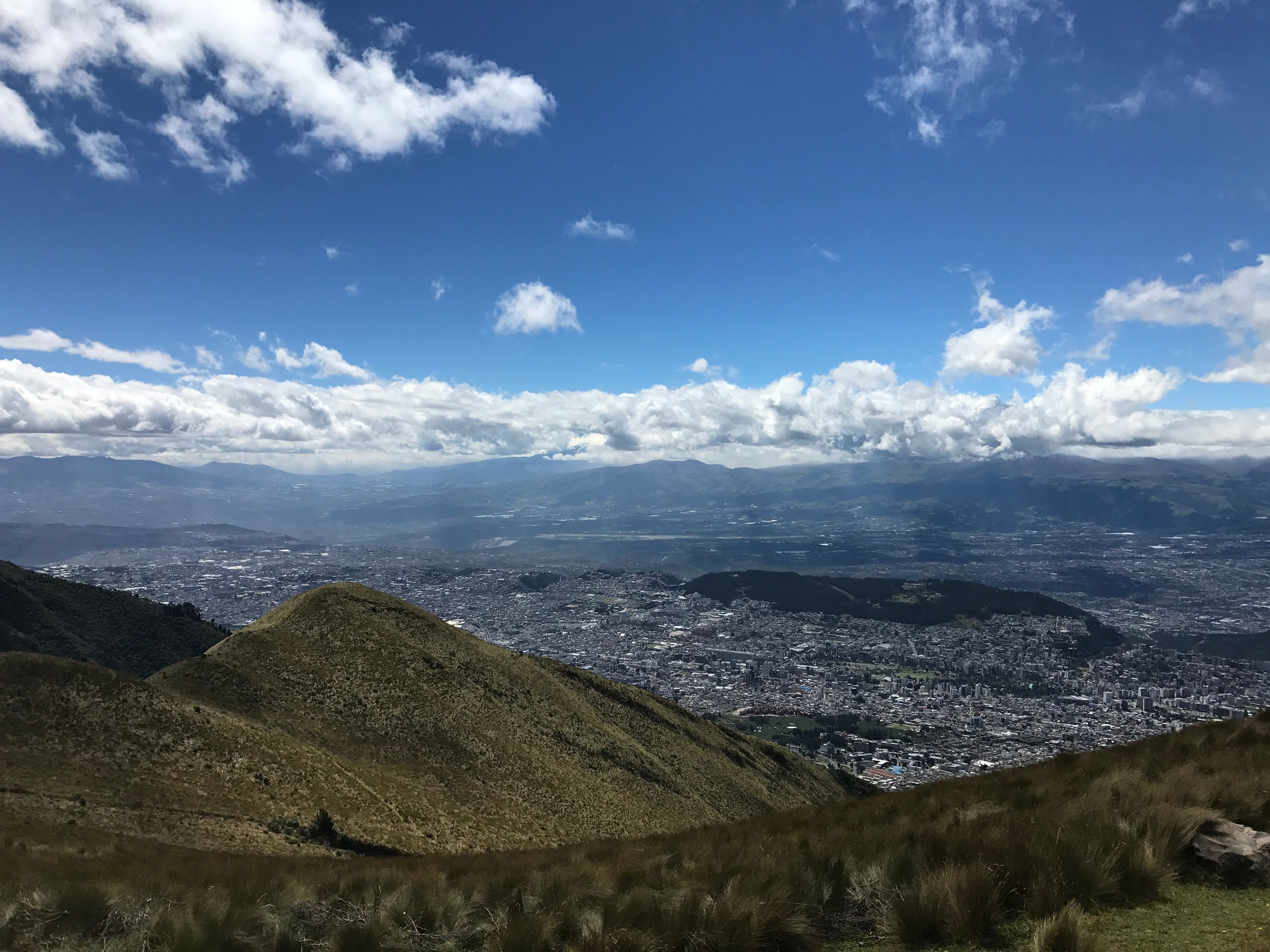 View of the City from the TeleferiQo