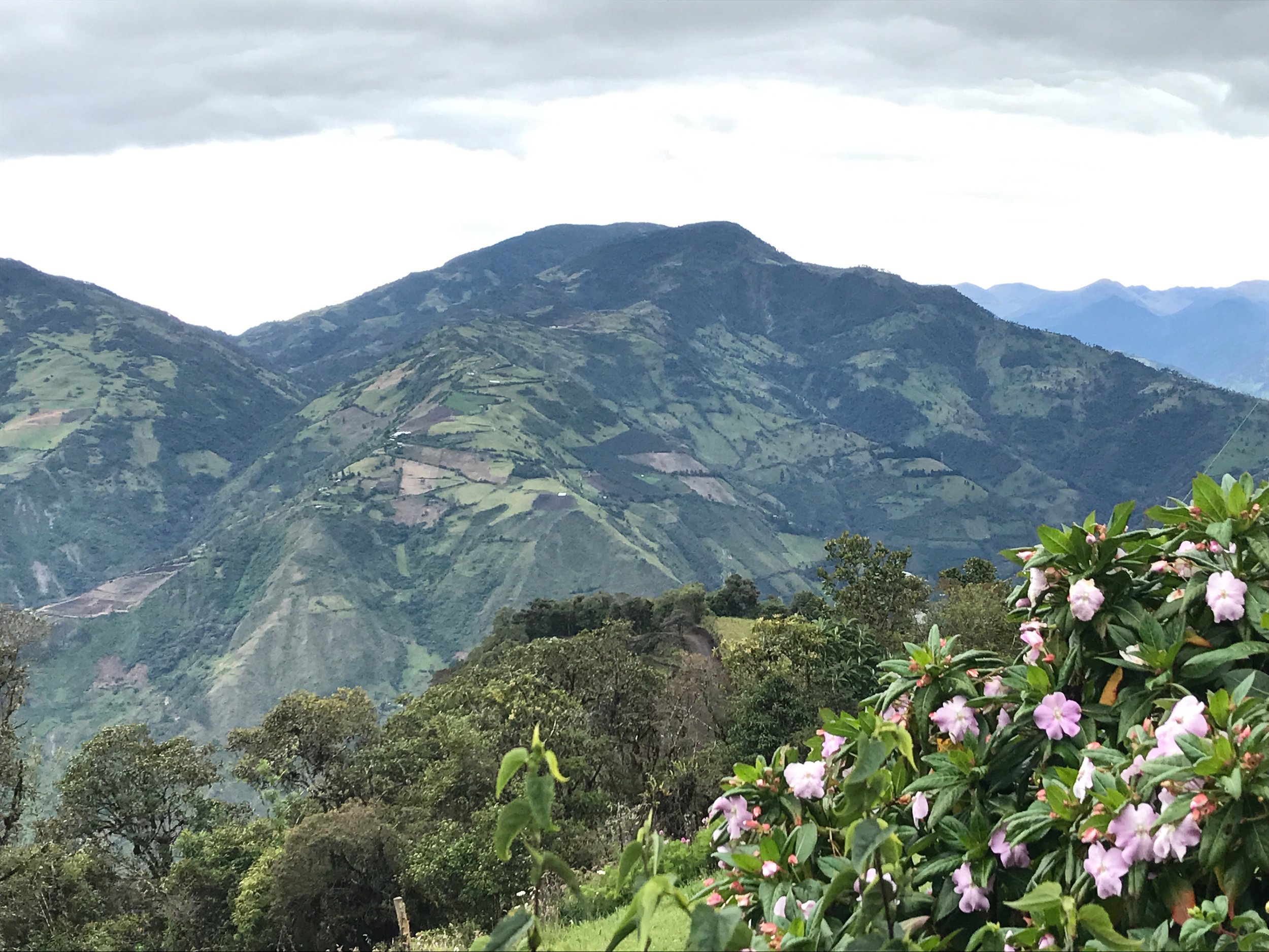 Hillsides above Baños