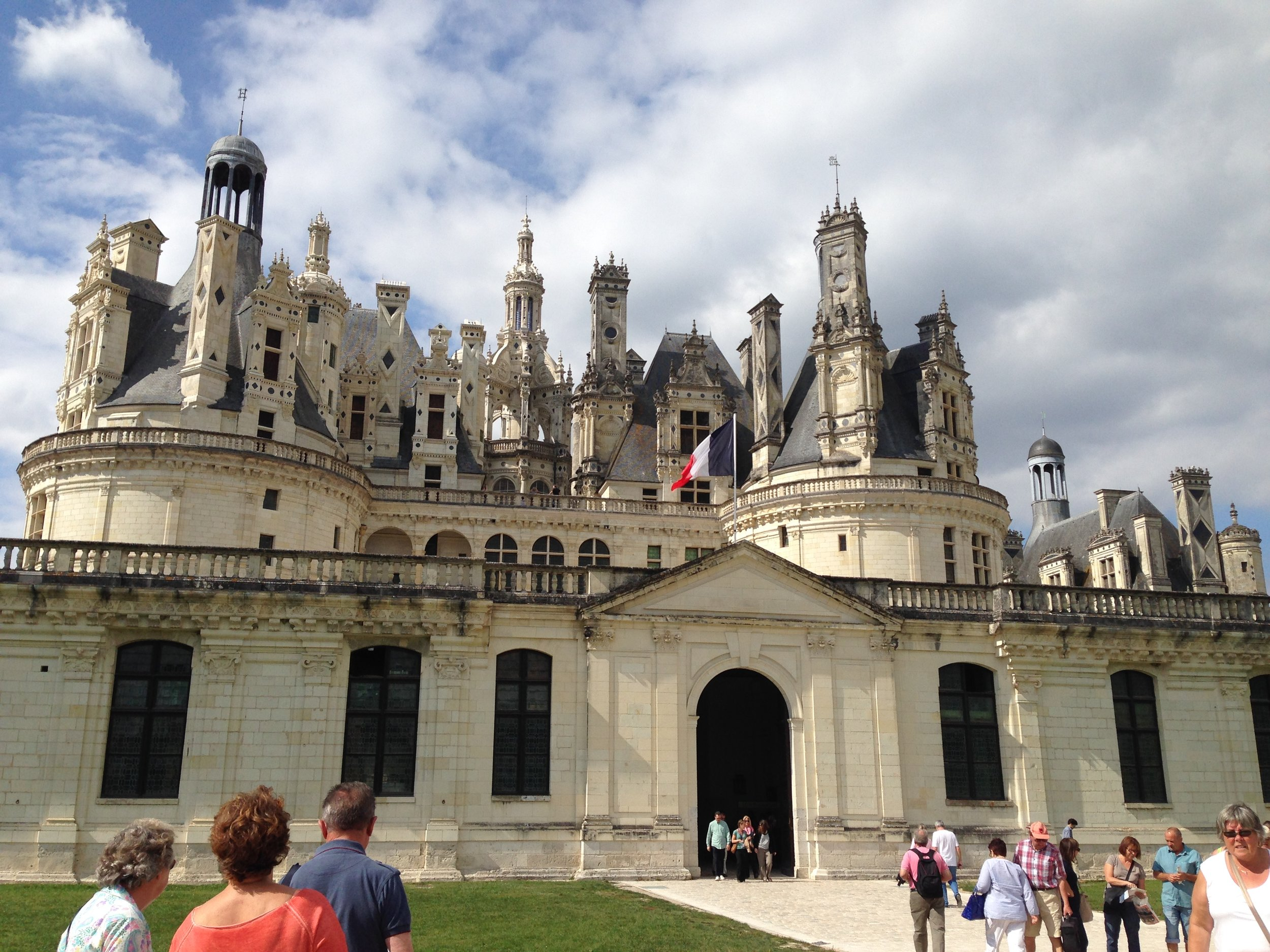 Francis I ,King of France, built this humble hunting lodge called Chateau de Chambord in the Loire Valley at the beginning of his rein in 1519. During his 28 year rein he spent a total of 7 weeks staying at the chateau. The chateau has a total of 440 rooms, 282 fireplaces, and 84 staircases. Just the right amount of space to manage Frances's retinue of 2,000 servants and staff. Being the King had its privileges.  https://en.m.wikipedia.org/wiki/Château_de_Chambord