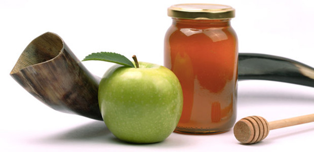 The joy of the Jewish community can be seen in the foods they eat during their periods of celebration. Traditional foods during Rosh Hashanah include apples dipped in honey in order to bring about a sweet new year.   http://www.jewishledger.com/wp-content/uploads/2015/08/rosh-hashanah-elements-600-620x300.jpg