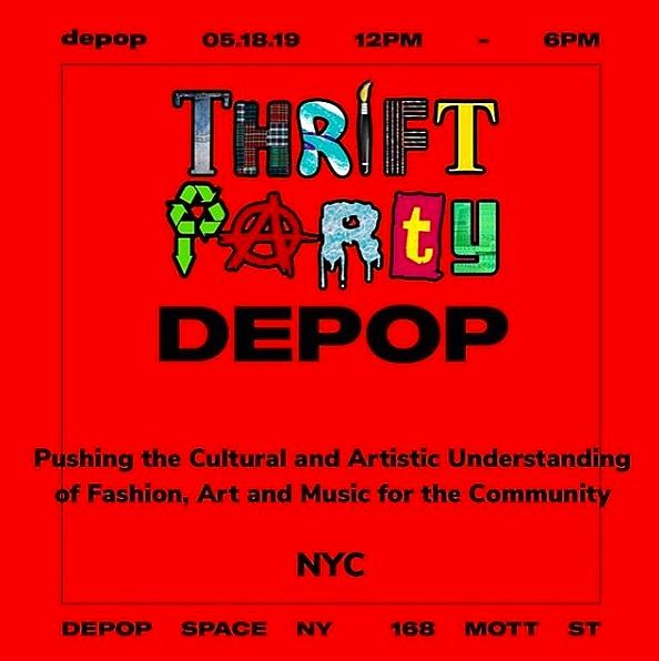 DEPOP THRIFT PARTY