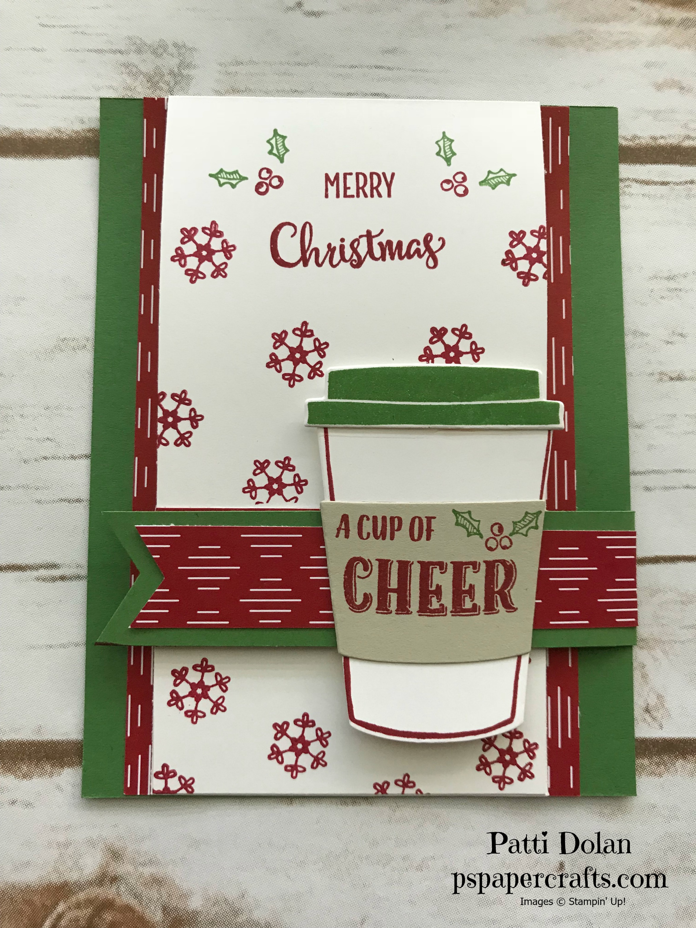 Merry Cafe Christmas Card with Gift Card Holder Single1.jpg
