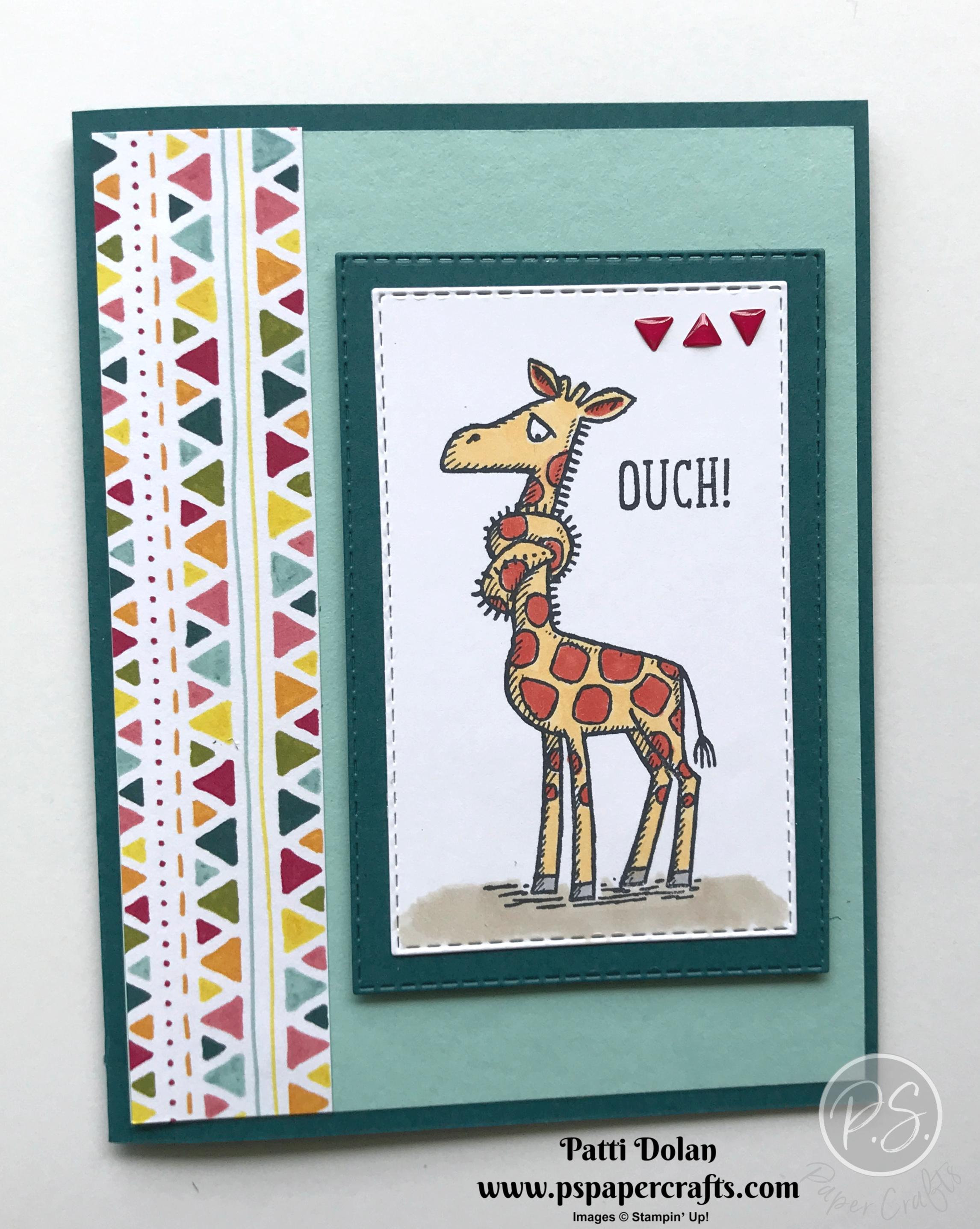 Back On Your Feet Giraffe peacock2.jpg