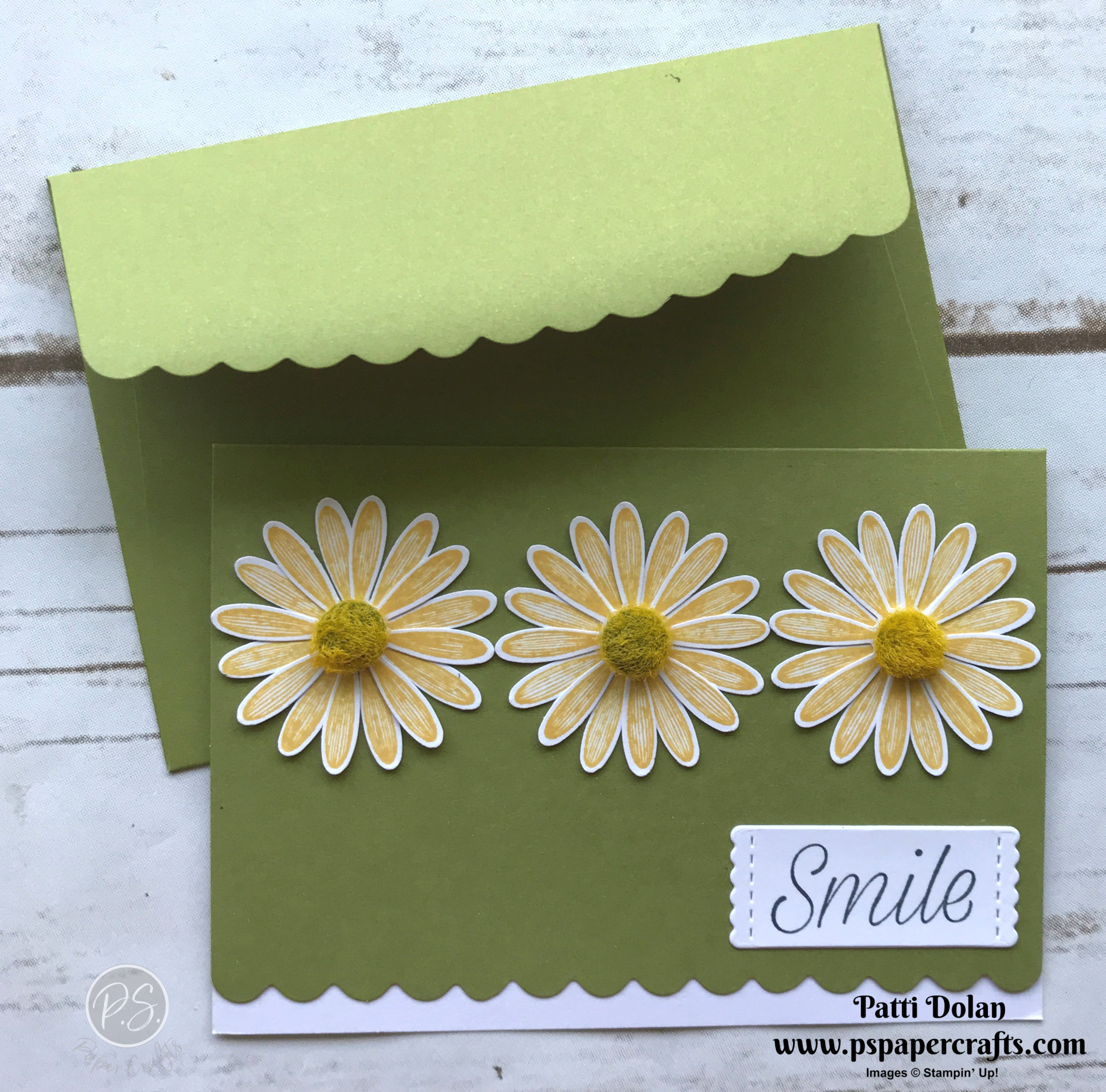 Scalloped Notecards Daisy Green.jpg